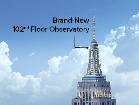 Empire state building web store ticket selection for Piso 86 empire state